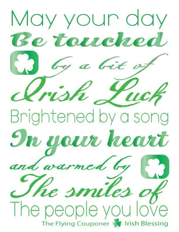 St. Patrick's Day Free Printable