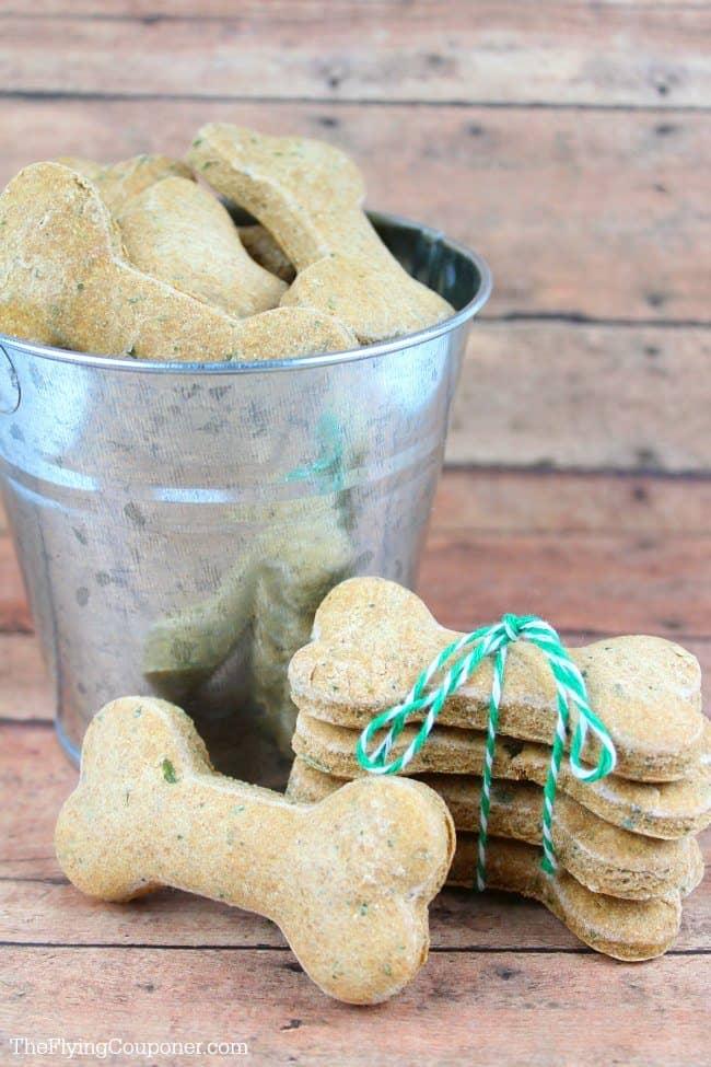 Chicken & Parsley Dog Biscuits