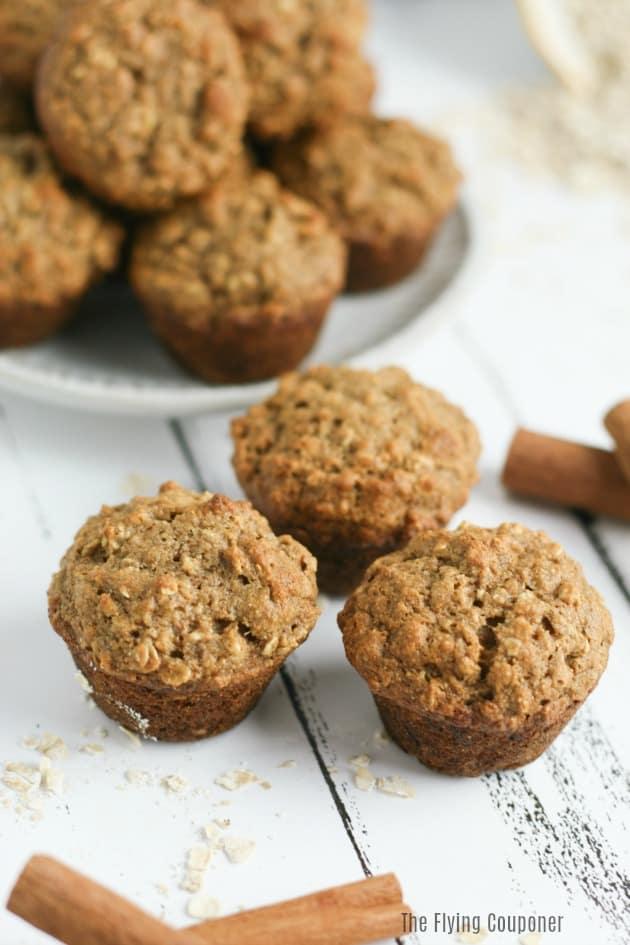 Healthy Breakfast Recipes: Easy Banana Muffins