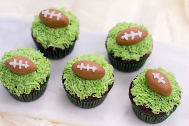 Party Food: Football Cupcakes