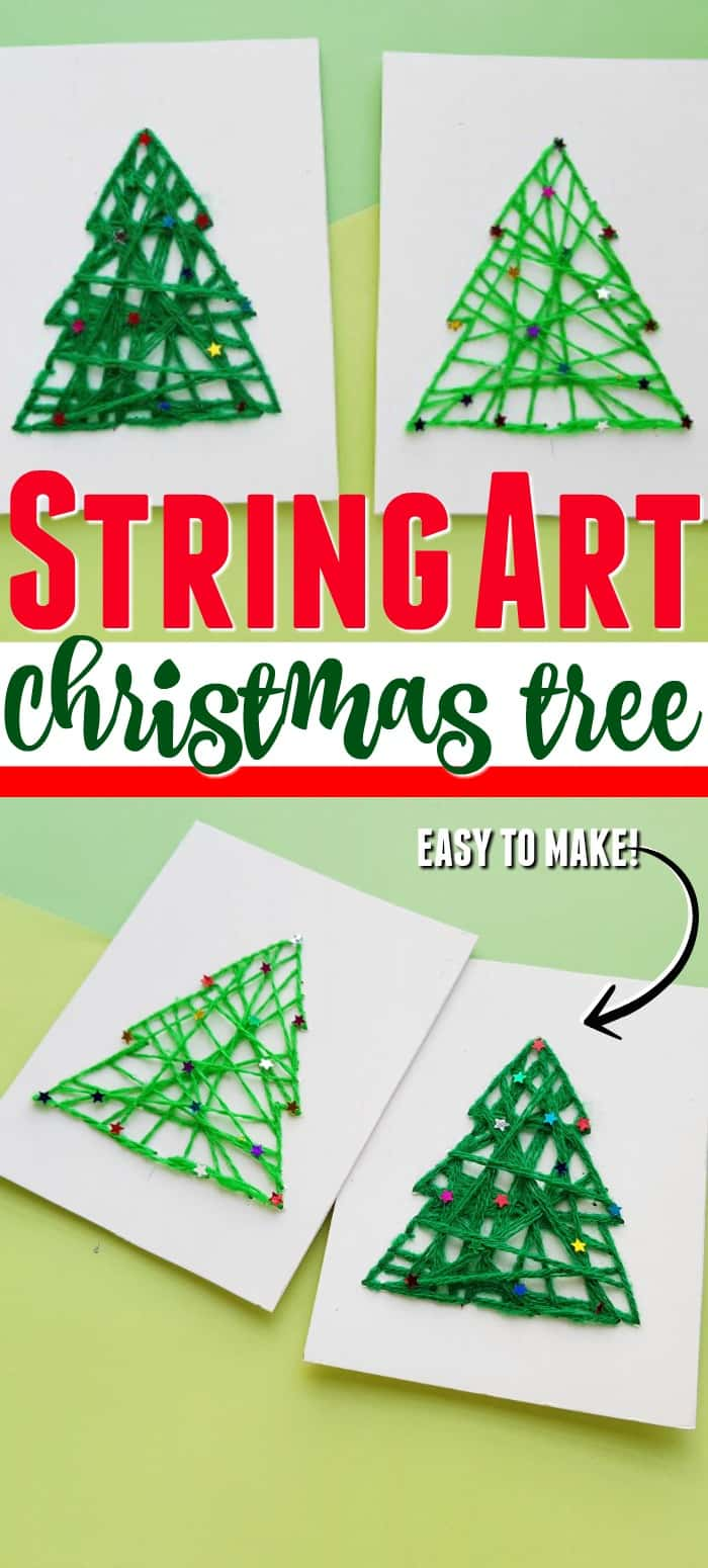 String Art Christmas Crafts